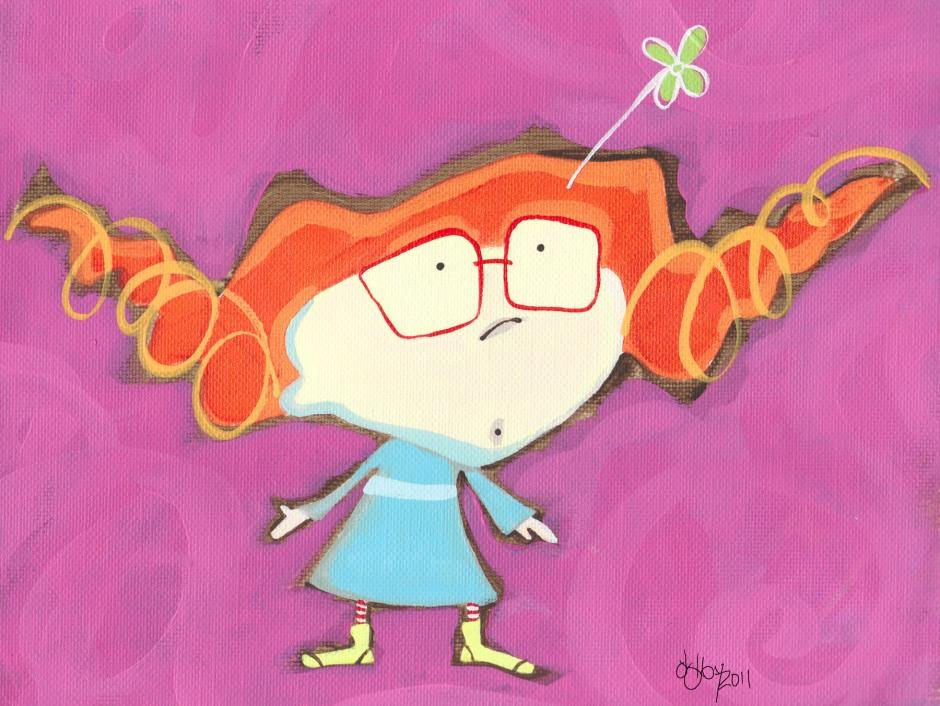 Gabby; illustration by Jan Dolby